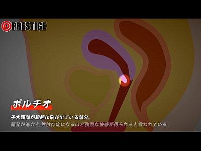 【倉木志乃】ポルチオマッサージの仕方を文字入りで教えてくれる良動画www