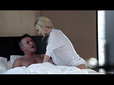 Blonde Blowjob Ass video: Hot blonde Nesty loves to ride
