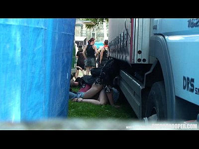 Hardcore Voyeur Czech vid: Czech Snooper - Public Sex During Concert