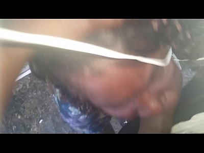 Ebony Swallow video: Crackwhore swallow my kids