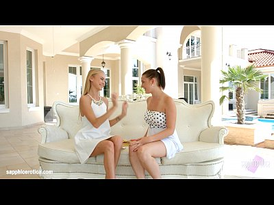 Lesbian Licking Sapphicerotica video: Nancy A and Dyanna in Afternoon nap lesbians by SapphiX