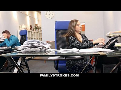 Brunette Cfnm Clothedsex video: FamilyStrokes - Part Time Step Daughter Becomes Full-Time Slut