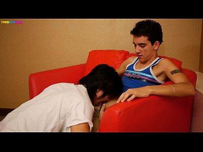 Skinny Asian Twink And Arab Boy In Blowjob Video