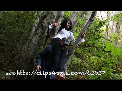 Femdom Mature Domination vid: UNP051- THE BLACK WIDOW - HARD HEADSCISSOR PUNISHMENT