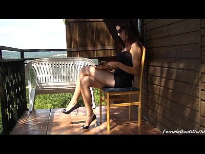 Femdom Foot video: Her Personal Cleaner