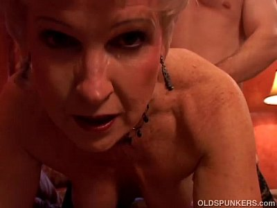Matures Lingerie video: Jewel is a juicy old spunker who loves the taste of cum