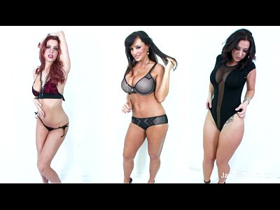 Bigboobs Brunette Lesbian video: Jayden Jaymes Lesbian Threesome
