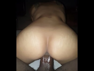 Black Blackcock Creampie video: THAI girl takes BBC