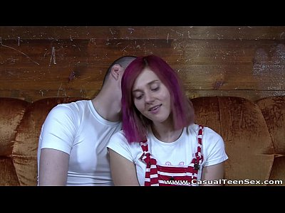 Casual Teen Sex - Quickie with redhead in nylons
