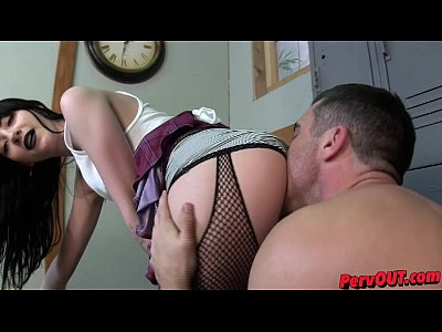 Ass Worship movie: Charlotte Sartre Corrupts a Jock - Lance Hart