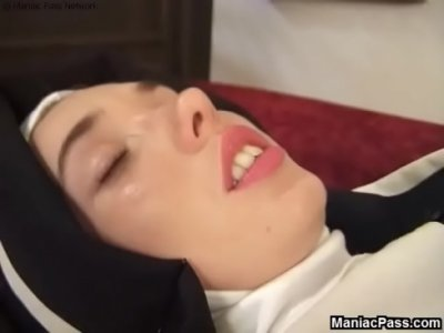Uniform Nun video: Sinful nun confession fucking