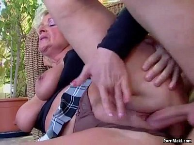 Busty mature loves young cock | Video Make Love