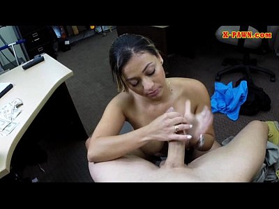 Amateur Hardcore movie: Police officer with huge boobs got fucked in the backroom