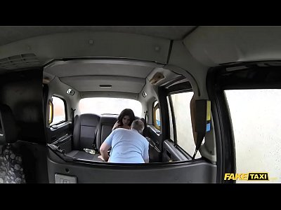 Fake Taxi cute escort rides cock for cash