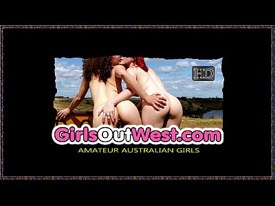 Girls Out West - Australian blonde squirts when fingered