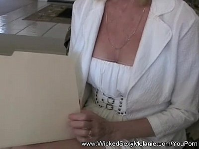 Blowjob Handjob Milf video: Step Mom Teaches Son About Sex