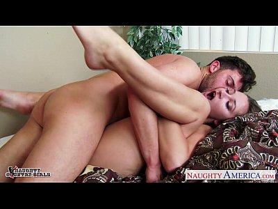 Hardcore Blowjob Pornstar video: Horny cowgirl Dani Daniels fucking a large dick