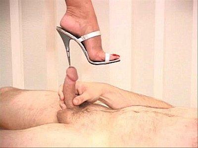 urethral insertion cock heel insertion compilation