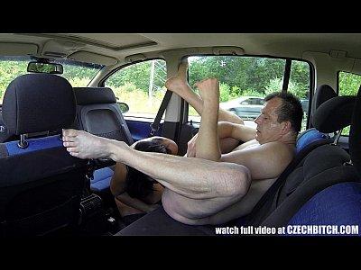 Hardcore Voyeur Czech video: Whore Gets Amazing Cumshot to the EYE