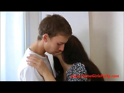 Porno video: Russian Teen Angel Sucks & Fucks