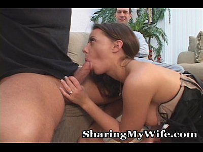 Brunette Cum Garters video: Cock Craving Wifey Needs A Good Fucking