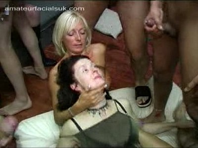 British Bukkake Facials video: AFUK - Erica 02 03 05