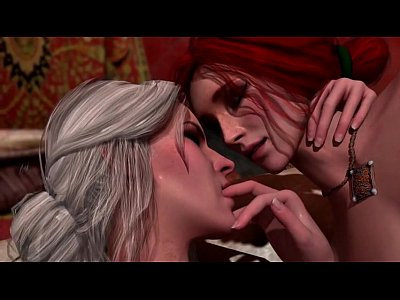 The Witcher - Triss and Ciri lesbian