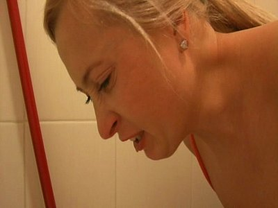 Throat Spit Spitting video: Sexy Girl Puking Vomit Puke Vomiting Gagging Gag Food