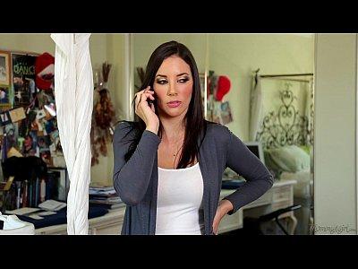 Milfs Lesbians Milf video: Busty step-mom Jelena Jensen and Casey Calvert