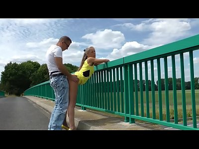 video xhamstercom flashing bridge fucking cornfield
