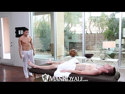 Ver Videos Gay Gratis Manroyale - liam troy gets his ass pounded on the massage table