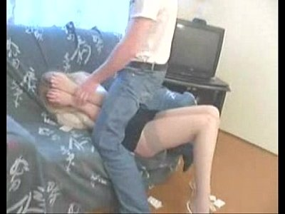 Young Blonde Forced to Hard Sex