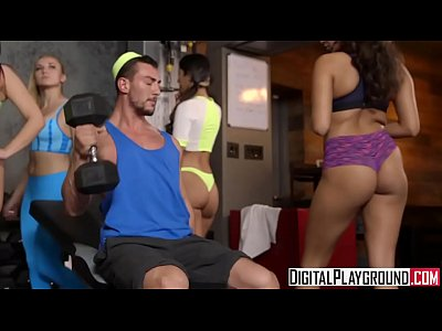 Handjobs Tits Strapon video: Get Physical by DigitalPlayground.com