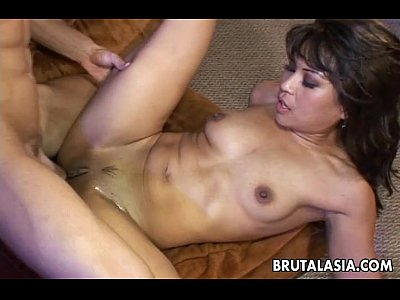 Ass Bigcock Boobies video: Smoking hot Asian bitch fucking a fat dick so hard