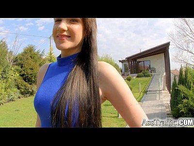 Ass Asstraffic Hardcore video: Asstraffic brunette bends over and gets fucked in the ass