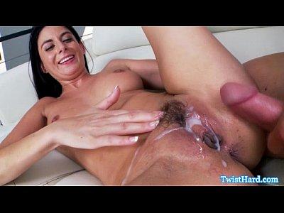 Nikki Daniels sprayed with cum