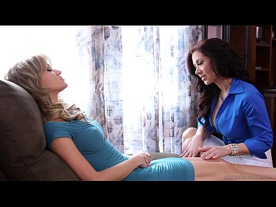 Porno video: Lesbian sex under hypnosis - Angela Sommers, Jayden Jaymes