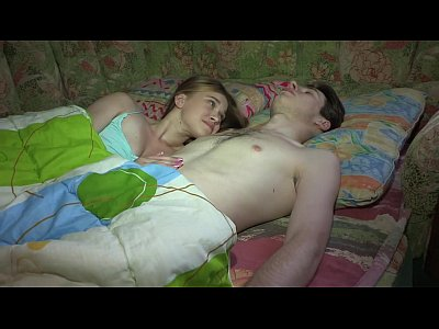 Sex film with girl squealing from desire to get cum
