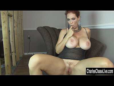 Fingering Boobs Solo video: Horny MILF Charlee Chase's Pussy Needs Pleasing