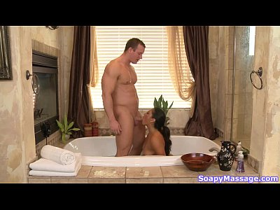 Massage Shower Masseur video: The Busty Asian Masseuse - Adrianna