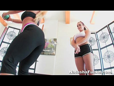 Lesbian Gym Pussy video: Workout Time With Natasha Nice