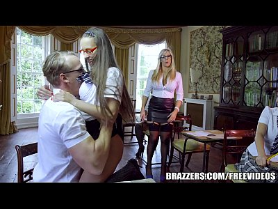 Cock Fucking School video: Brazzers - Sexy School girl Emma Leigh gets fucked