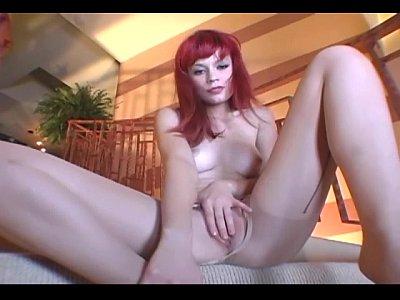 Pantyhose masturbation videos