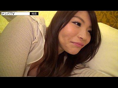 【素人セックス動画】美乳スレンダーな素人女子大生!セックス大好き過ぎて握ったチンコを離さない!