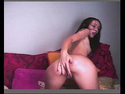 Magrinha linda e gostosa na webcam Parte 2