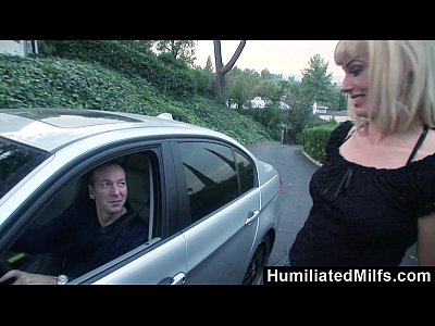 Hardcore Blonde Blowjob video: Humiliated Milfs - Picked Up and Plowed in All Holes
