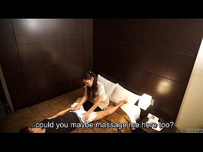 日本ホテルマッサージなくなって間違って字幕HD