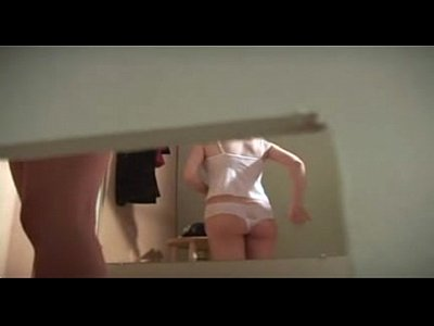 Voyeur Room video: Full nude at fitting room