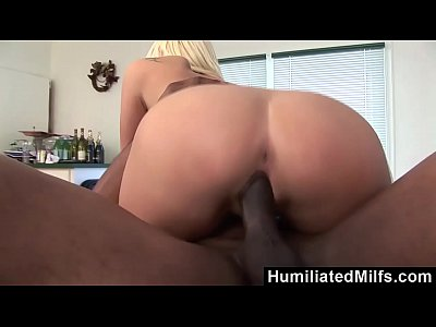 Bbc Blonde Blowjob video: HumiliatedMilfs - Stacy Thorn Can't Wait For Thick Black Cock