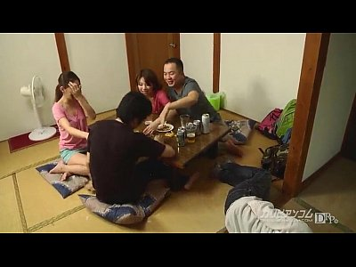 Japanese Group video: Horny wife likes to swap!
